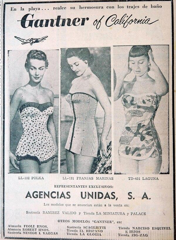 Publicidad en periódicos antiguos