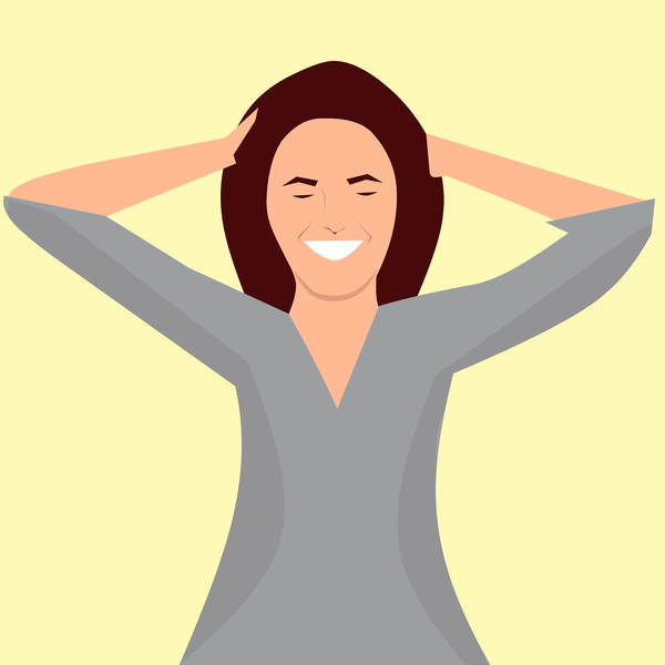 Masajear el cuero cabelludo por unos minutos removerá las células muertas.