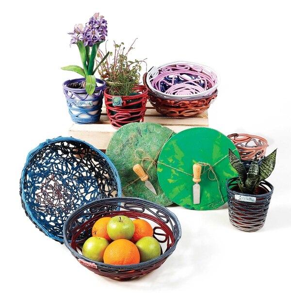 Productos elaborados con plástico reciclado