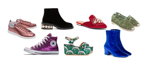 Tendencias de zapatos para el 2017 y 2018