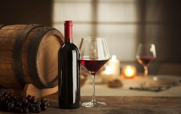 Wine tasting at restaurant