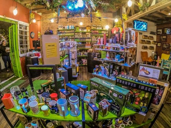 tienda de cerveza.