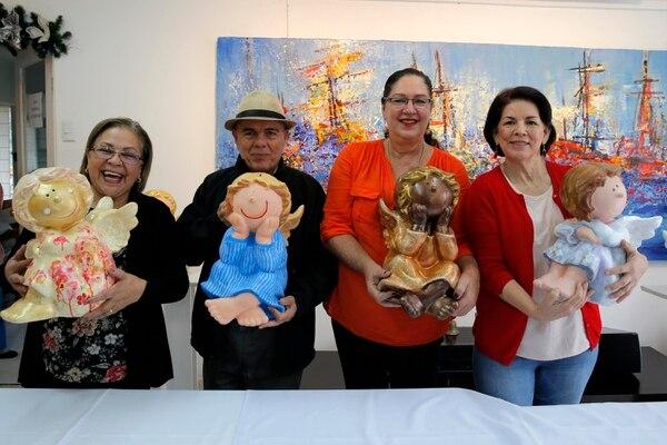 Roxana Ramírez, Rodolfo Stanley, Ileana Piszk y María Nielsen Alvarado, fueron algunos de los artistas que participaron en el proyecto.