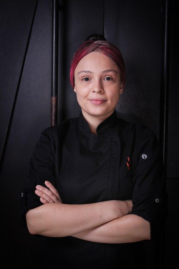 Chef Mónica Peñaranda del restaurante Julián