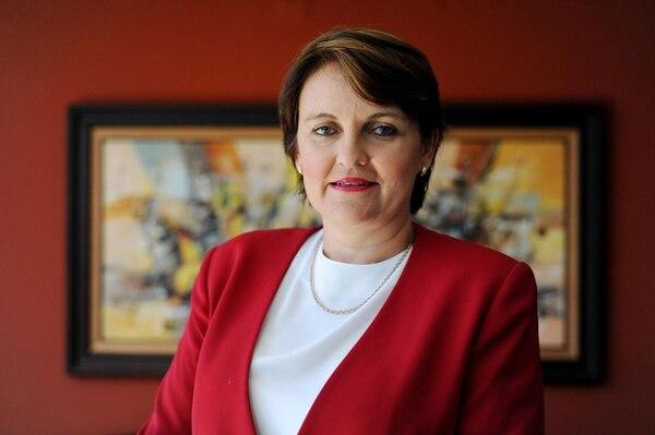 Patricia Vega, candidata a la vicepresidencia por el PUSC