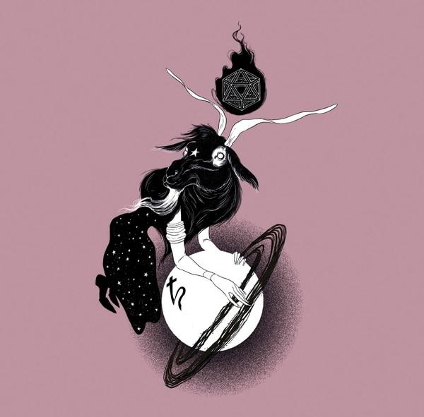 Capricornio. Ilustración: Augusto Ramírez