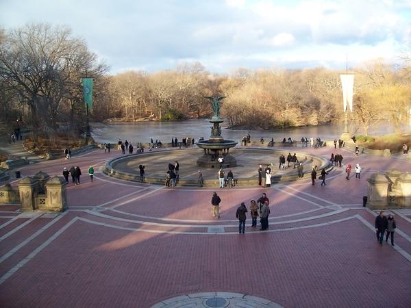 Fuente Bethesha, Central Park.