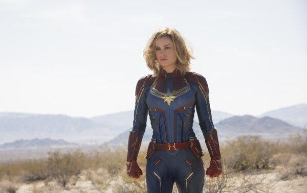Foto: Marvel Studios' CAPTAIN MARVEL..Carol Danvers/Captain Marvel (Brie Larson)..Photo: Chuck Zlotnick..©Marvel Studios 2019