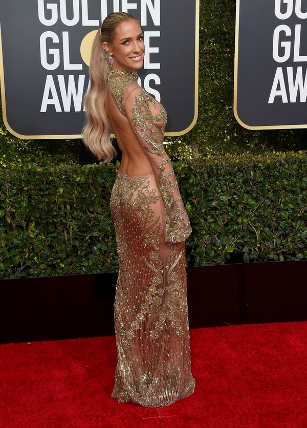 Kristin Cavallari arrives at the 76th annual Golden Globe Awards at the Beverly Hilton Hotel on Sunday, Jan. 6, 2019, in Beverly Hills, Calif. (Photo by Jordan Strauss/Invision/AP)