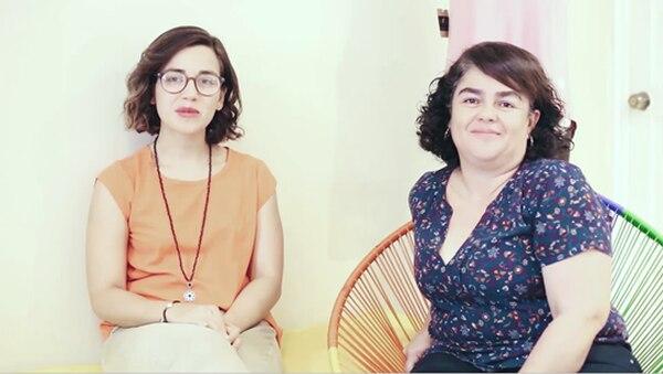 Alessandra Castillo y Ana Carolina Vallespide, dueñas de la marca Croma.