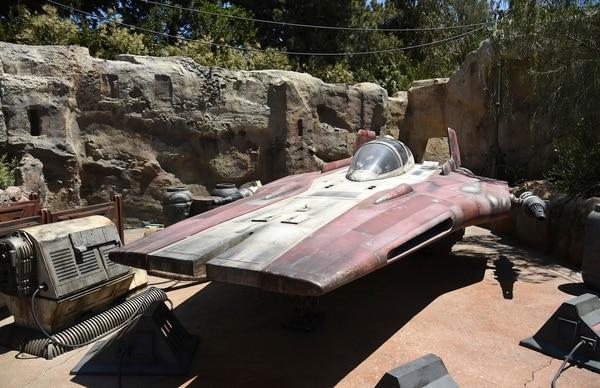 Star Wars: Galaxy's Edge en el Parque Disneyland (Foto por Chris Pizzello/Invision/AP)