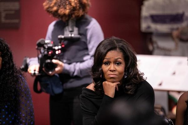 Documental 'Becoming' de Michelle Obama. Fotografía: Netflix para La Nacióm
