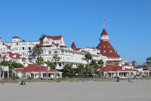 El famoso Hotel del Coronado.