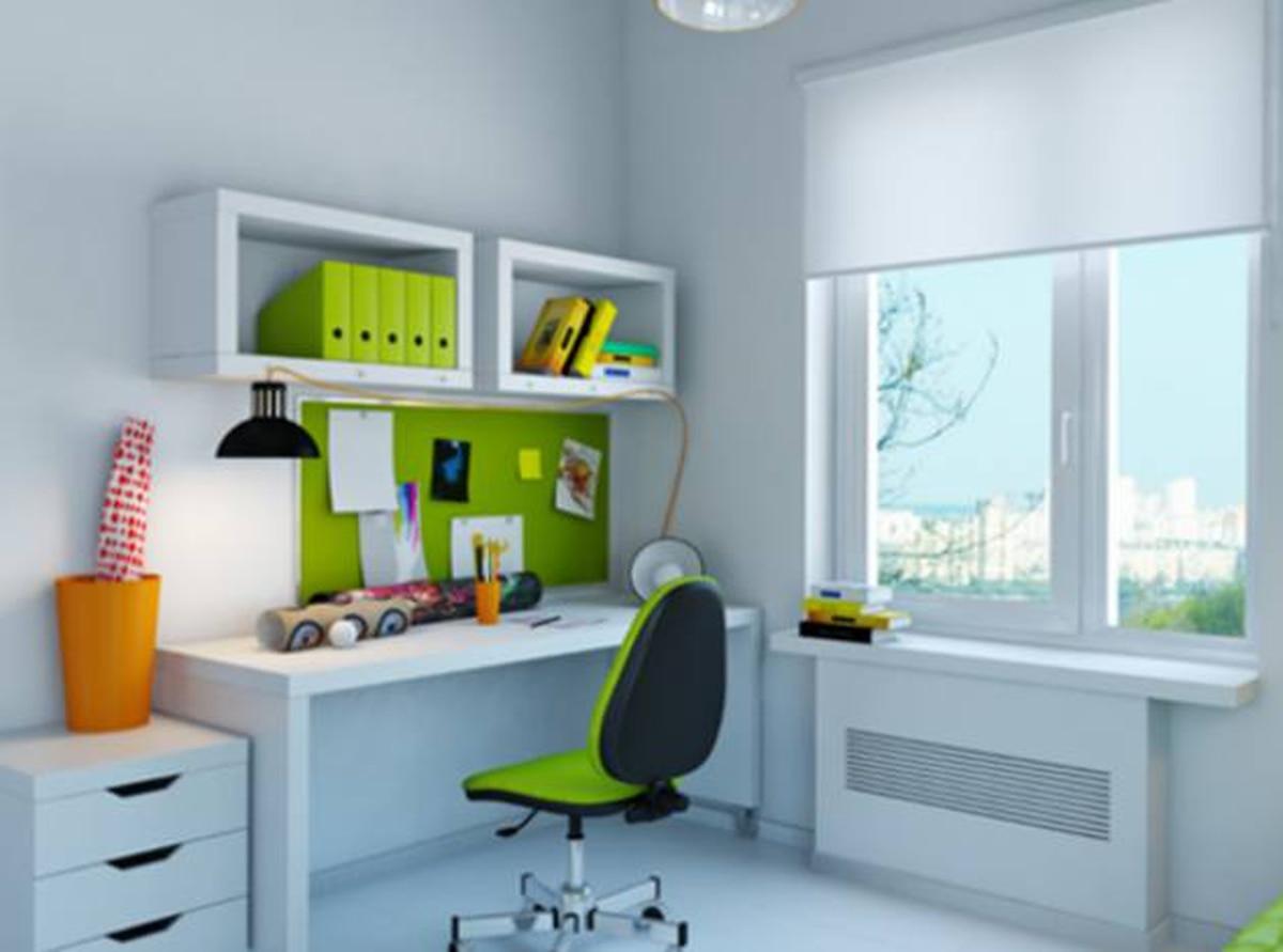 cinco detalles que no deben faltar en el cuarto de estudio
