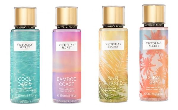 Nueva edición limitada de cuatro fragancias para el verano 2018, creada por los expertos de Victoria's Secret.