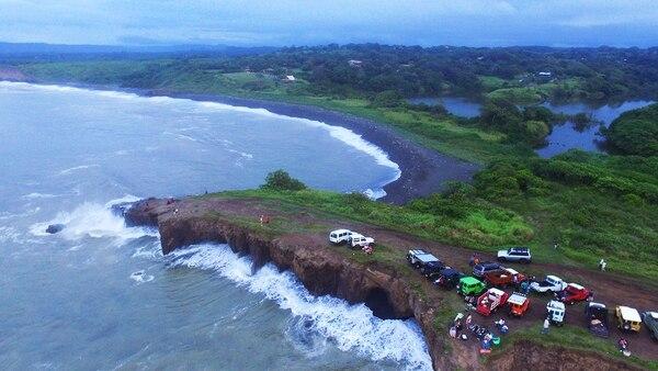 Peñón de Guacalillo. Foto: GOPlaya.cr
