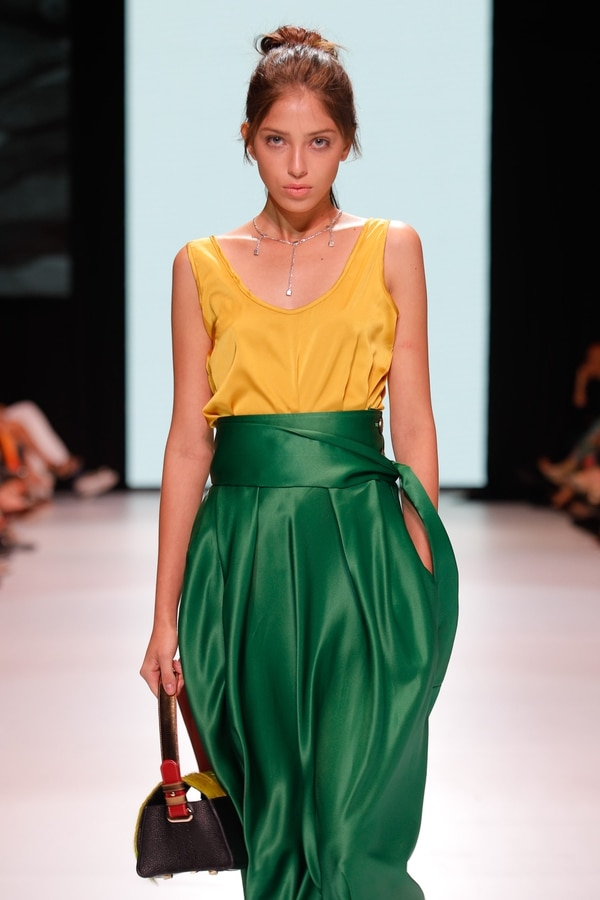Chaves ha participado en desfiles importantes como el de Milán Fashion Week.